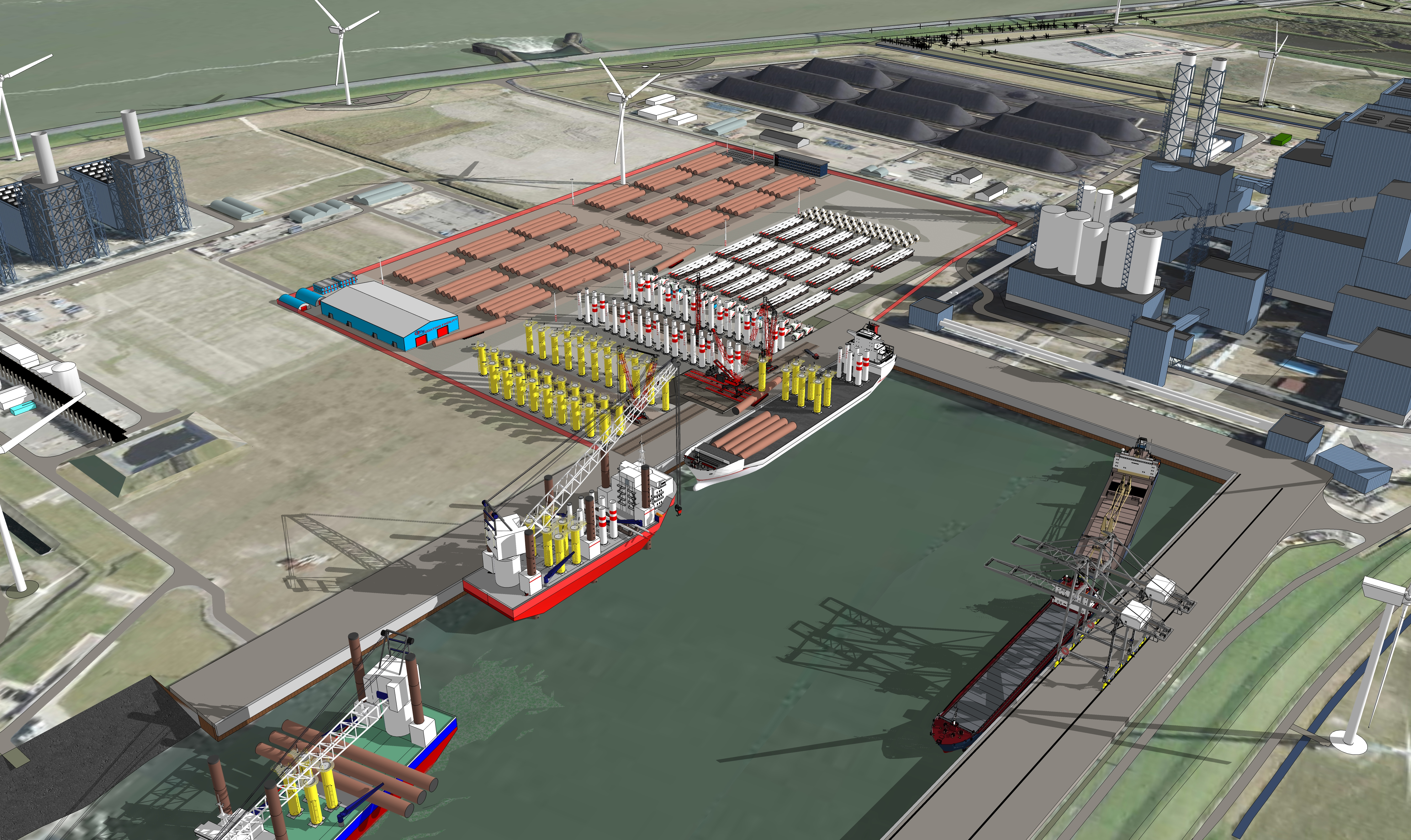 BOW Terminal Definitively Takes Position in Eemshaven