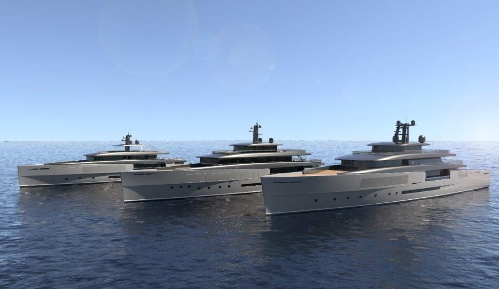 The Heritage Line for Perini Navi Launched at the Monaco Yacht Show 2018