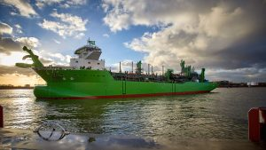 Royal IHC launches DEMEs LNGpowered TSHD SCHELDT RIVER