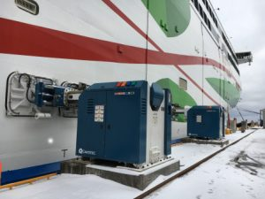 Cavotec automated mooring selected for Great Lakes e-ferry berths