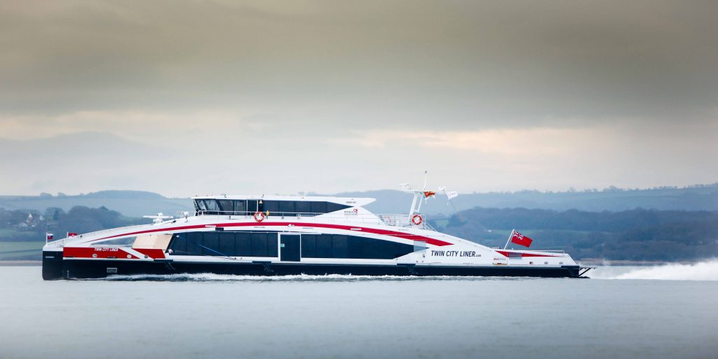 Deliveries on the increase for Wight Shipyard with their 6th Ferry in two years