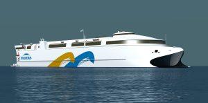 Australian shipbuilder Incat has secured a contract to build the world's largest aluminium ship.