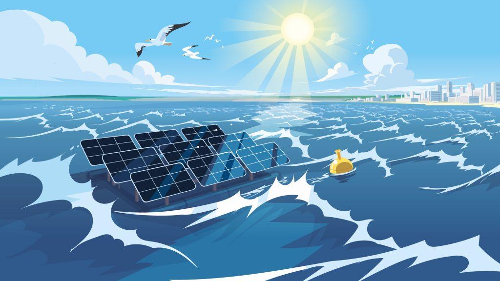 offshore solar