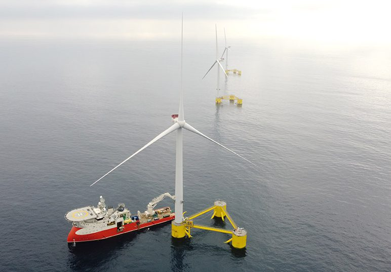 floating windfarm